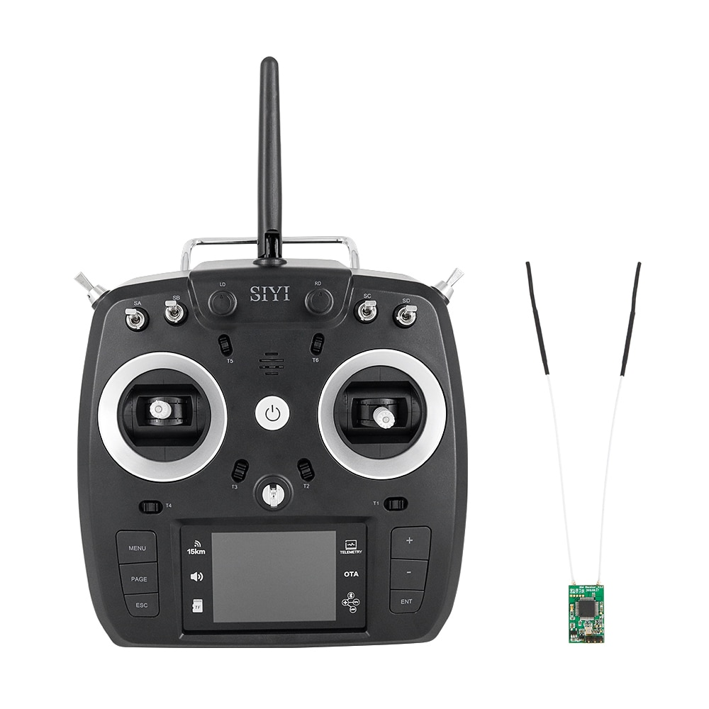 FT24 fix wing helicopter drone uav 15KM long distance furious racing wireless toy radio USB simulated remote control enlarge