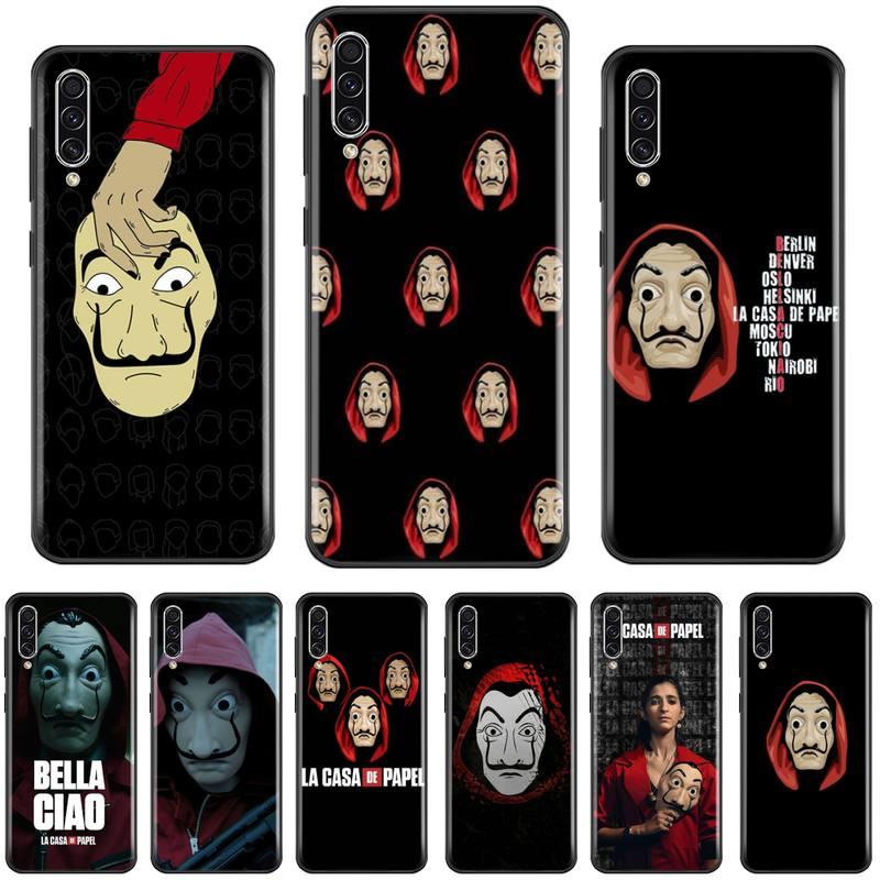Funda de teléfono carcasa de papel para Samsung A20 A30 30s A40 A7 2018 J2 J7 prime J4 Plus S5 Note 9 10 Plus