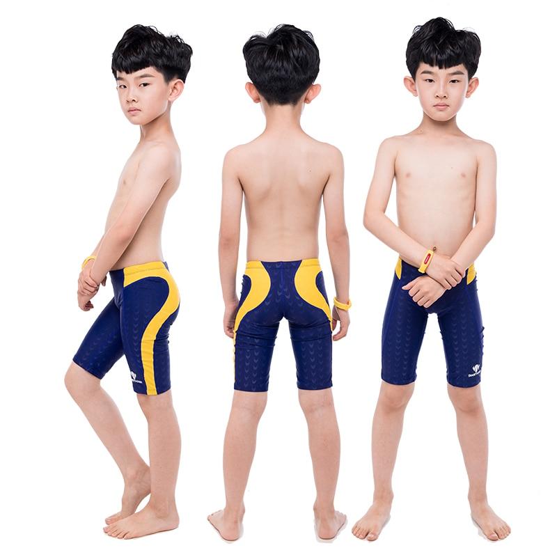 Профессиональные детские плавки для мальчиков, купальный костюм купальные плавки, мужские купальники, шорты, купальник