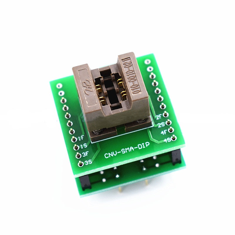 ANDK SMB حرق في المقبس IC الجسم size3.5mm مكشوفة اختبار البرمجة محول المقبس الأصلي Kenlivn adpter