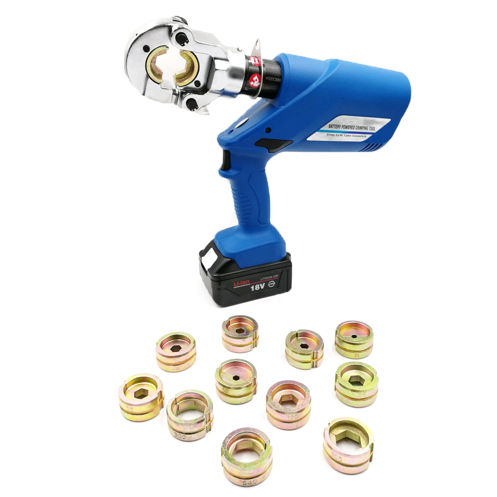 Высокое качество Электрический 10-300 кв. мм Батарея кабель выступ обжимной инструмент HL-300
