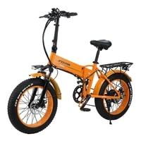 2021 new 800w 48v 12 8ah folding bike e bike fat tire lithium batterie snow bike electric bike 4 0 fett reifen e bike ebike