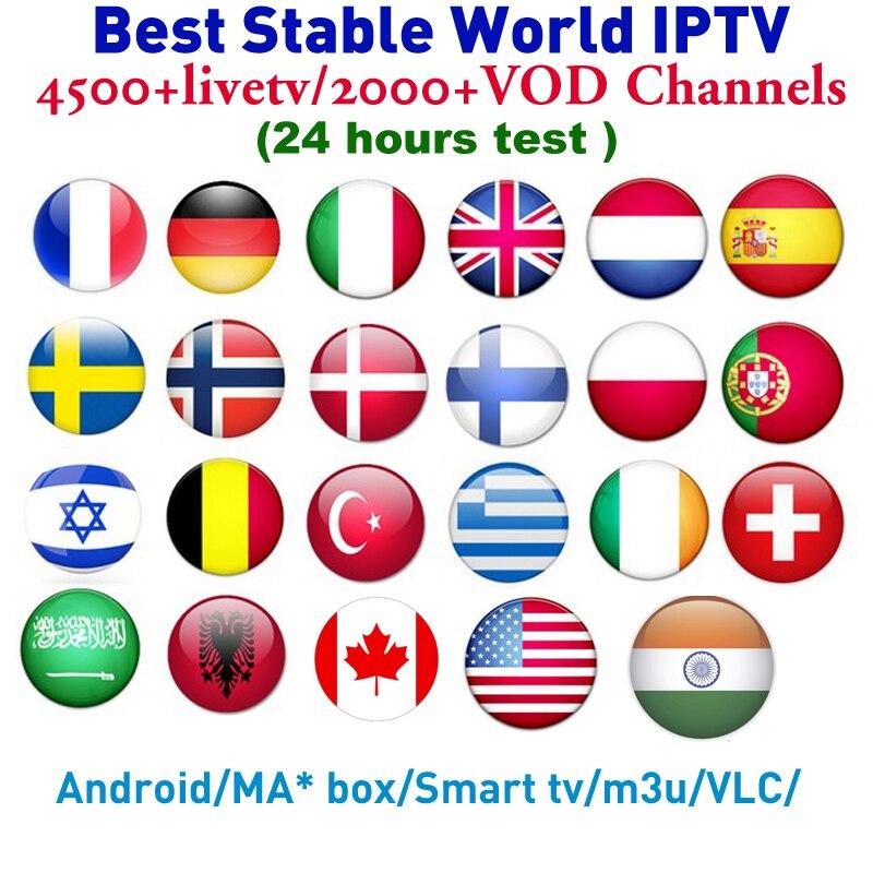 Europe IPTV chaud XXX chaînes Portugal royaume-uni allemand arabe néerlandais suède pologne IPTV abonnement pour Smart TV android Box test gratuit