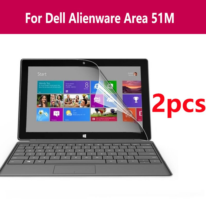 Película protectora Hd para portátil con Protector de pantalla transparente de Microsoft Surface Book para Dell Alienware Área 51m