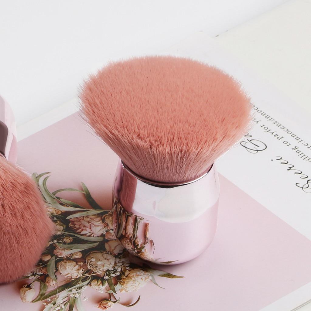 Maquillaje gran polvo de belleza brocha colorete grande herramienta cosmética polvo suelto Multi-función brochas suaves maquillaje