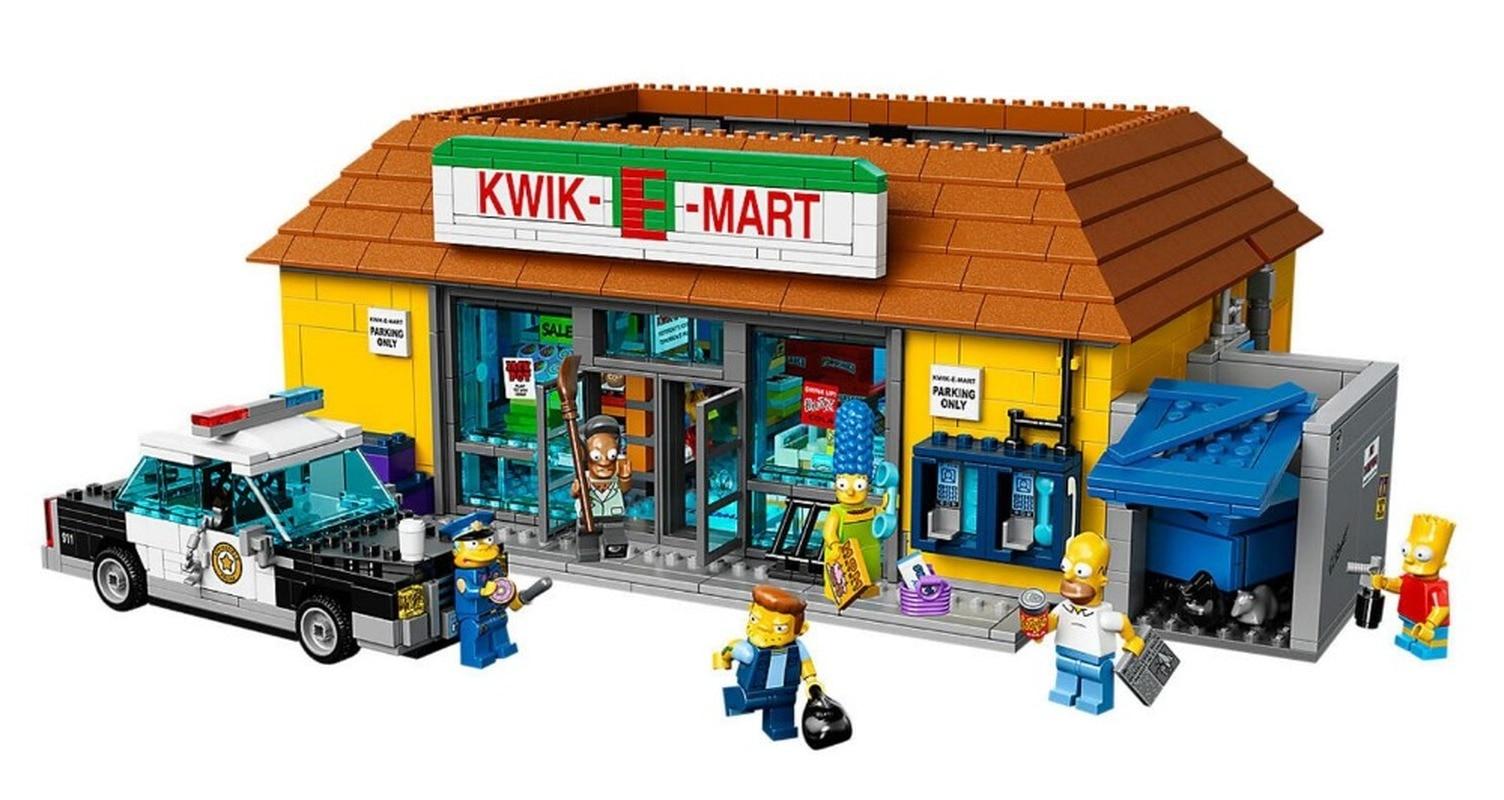 2575pcs Compatible Lepining 16005 83004 The Simpsons Series 71006 Models Building Simpsons House Building Blocks Toy Hobbies