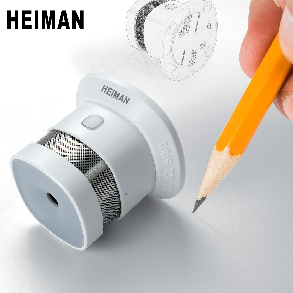 HEIMAN independent fire alarm smoke detector home high sensitivity safety protection system Wireless sensor mini Portable