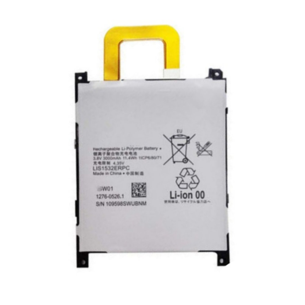 Original LIS1532ERPC battery 3000mah for Sony Xperia Z1 L39T L39U Z1S Cellphone batteries
