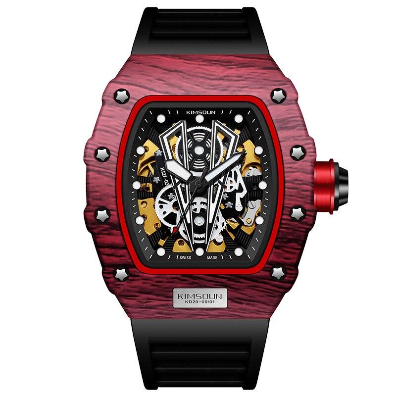 KIMSDUN-ساعات فاخرة للرجال ، ساعة يد ميكانيكية أوتوماتيكية ، رائعة ، رياضية ، رائعة ، ماركة RM ، 2021