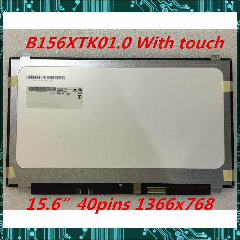 Für Dell Inspiron 15 5558 Vostro 15 3558 JJ45K Laptop display LCD touch screen B156XTK01.0 NT156WHM-T00 1366x768 Getestet