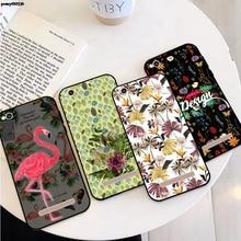 Plum Flower 1 Soft TPU Case Cover For Xiaomi Redmi Note 3 3S 4 4X 4A 5 5A 6 6A 7 S2 Y2 7A Prime Plus