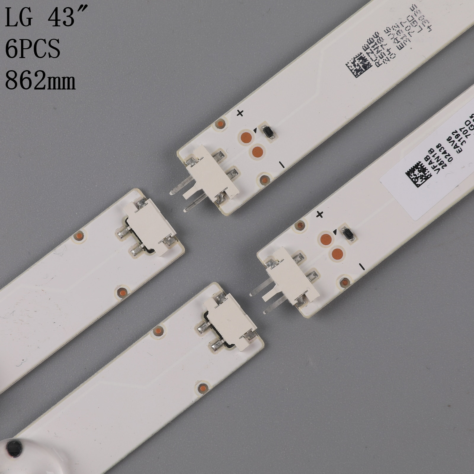 Led hintergrundbeleuchtung Streifen Für LG 43LH511T 43LH513V 43LH5150 LED Bars Band Herrscher 43LH51_FHD_A S LGE_WICOP_FHD SSC_43inch_FHD_B_REV02 Blitz-Teile    -