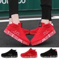 men women sneakers outdoor casual walking shoes couples jogging trainers athletics sneaker ladies platform vulcanized shoes