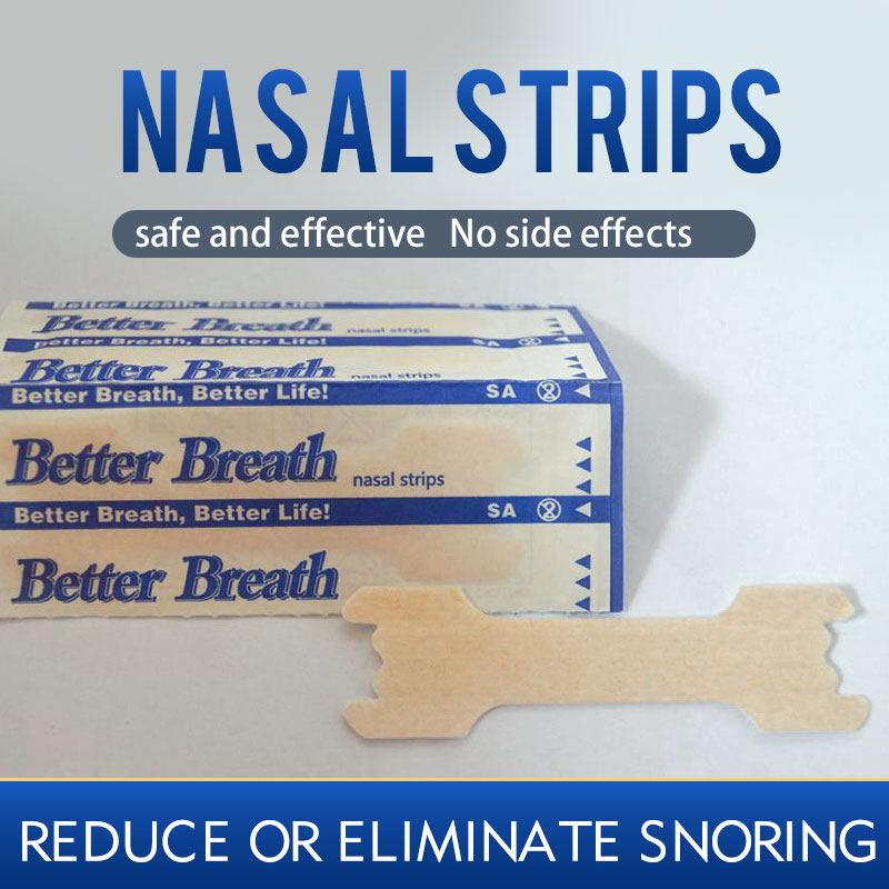 50 Pcs Better Breathe Nasal Strips Right Way Stop Snoring Anti Snoring Strips Easier Better Breathe