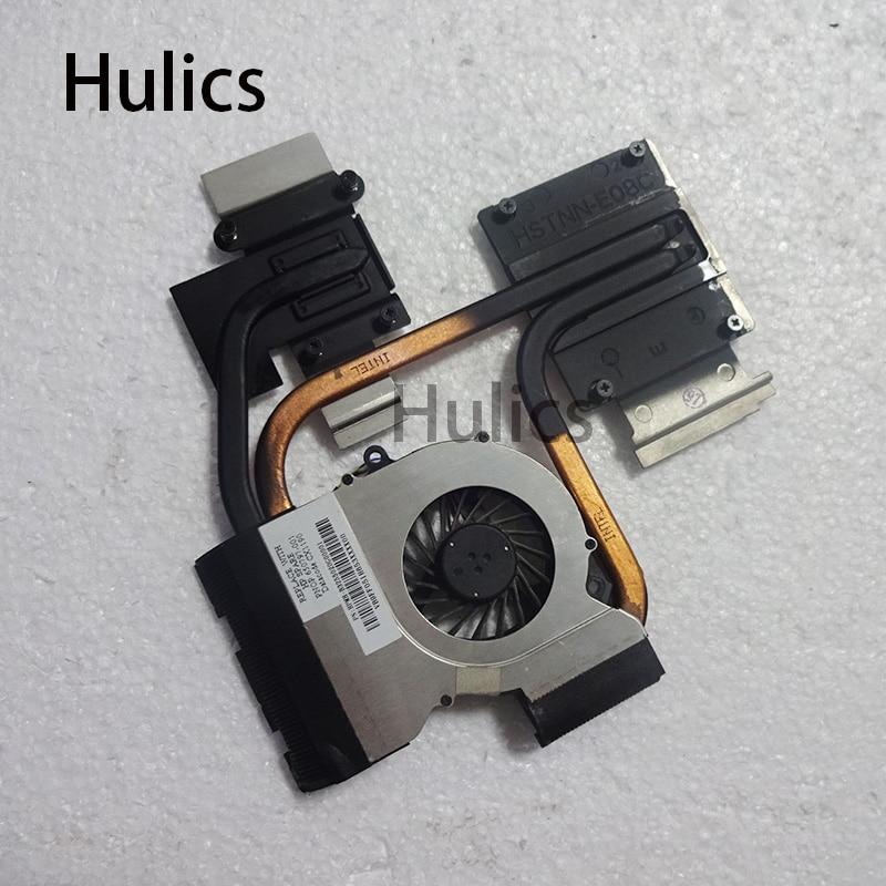 Hulics Original para HP pavilion DV6-6000 dv6 DV7-6000 DV7 de disipador de calor con ventilador 653627-001 650797-001 665309-001