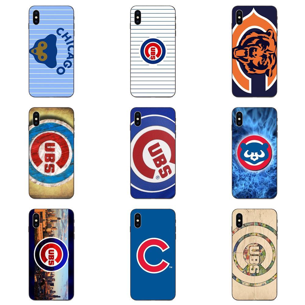 TPU Phone Capa Chicago Cubs Custom Smart For Galaxy A8 A9 Star Note 4 8 9 10 S3 S4 S5 S6 S7 S8 S9 S10 Edge Lite Plus Pro G313