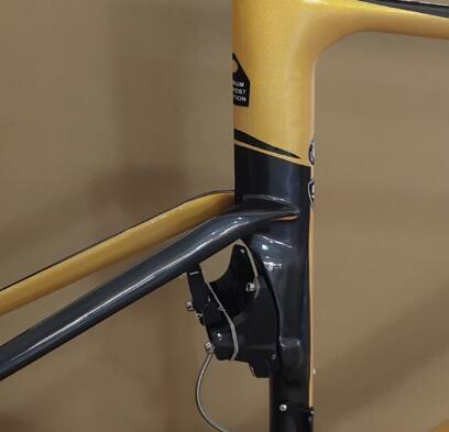 2019 stil v bremsen frameset + lenker + bremsen gelb schwarz carbon rahmen T1100 UD glänzend fahrrad frameset 49/52/54/56/58 rahmen