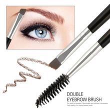 1PC Porfessional Eyelash Eyebrow Brush Nylon Big Eyes Makeup Brush Beveled Spiral Brush Portable Eye
