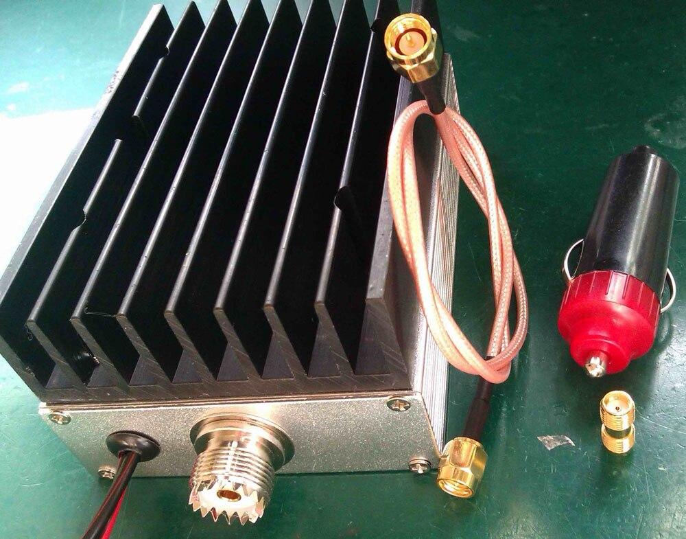 400MHz-470MHz 25W UHF Radio de jamón walkie-talkie amplificadores de potencia RF 433MHZ para U/V transmisor de potencia 2W-10W Radio