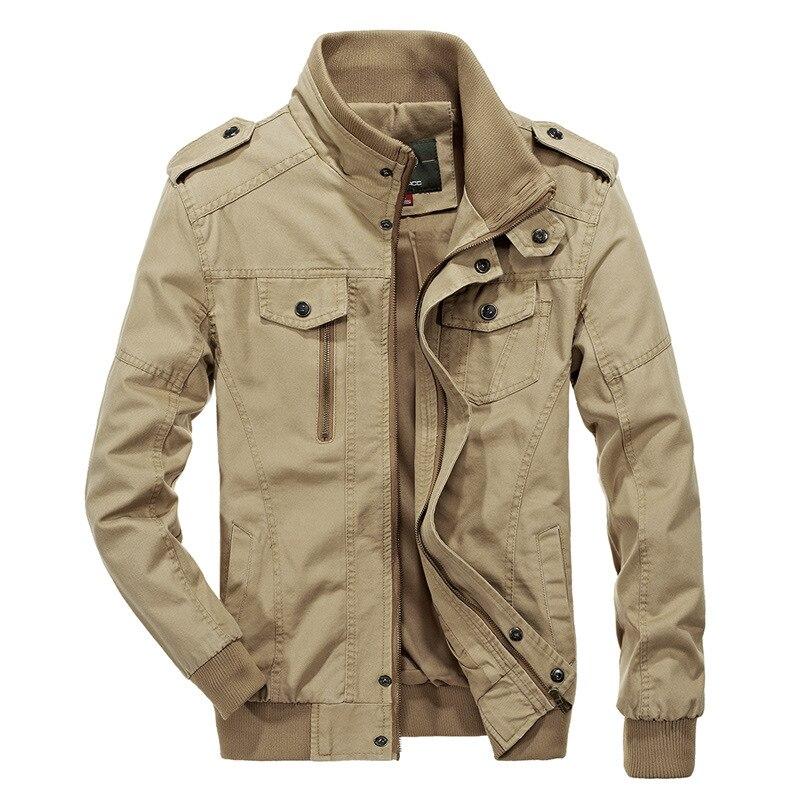 2020 New Men Military Tactics Jacket Spring Autumn Outdoor Hiking Male Cotton Bomber Pilot Jacket Plus Size Jacket for Men 6XL
