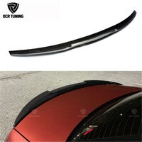 M4 Style For BMW E92 Spoiler 3 Series 2 Door E92 M3 E92 Coupe Carbon Spoiler 2005 - 2012 Carbon Fiber rear wing