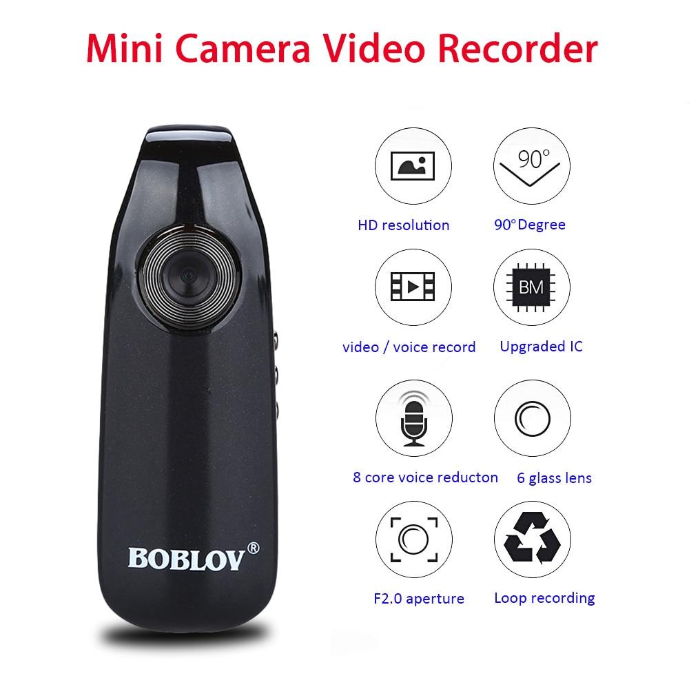 Boblov 007 мини цифровая камера HD камера для правоохранительных органов Магнитная камера для тела камера для обнаружения движения циклическая запись