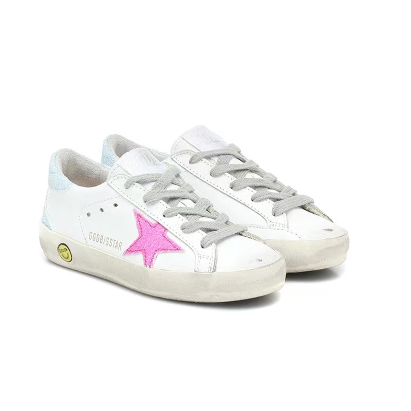 Spring and Summer Fashion First Layer Cowhide Children's Korean Version of The Old Little Dirty Girl Fashion Casual Shoes CS166 enlarge