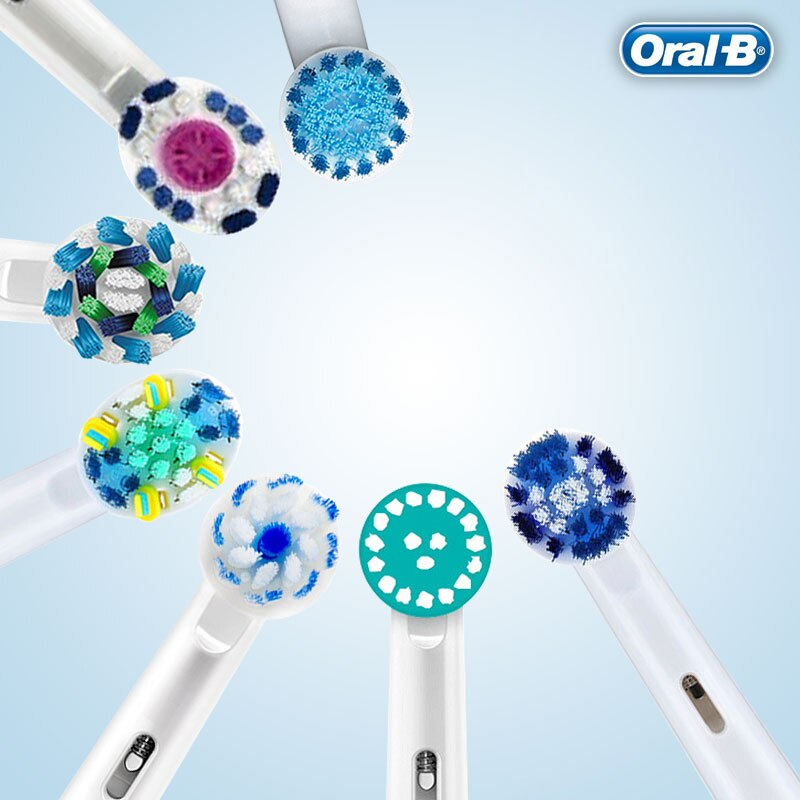 Für Rotary Elektrische Zahnbürste Oral B Elektrische Zahnbürste Köpfe Hohe Qualität Austauschbare Zahnbürste Köpfe 8 teile/paket