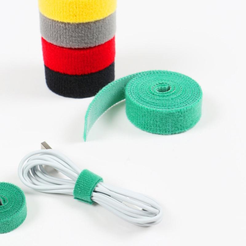 1,5 м можно свободно разрезать и использовать многофункциональный ремень управления кабелями