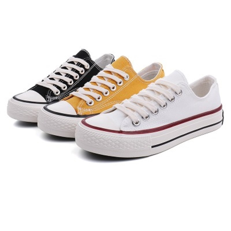 My-Love 2020 Fashionable Womens Cool Street Sneakers Breathable Ladies Casual Shoes Female Classic Candy Color Canvas