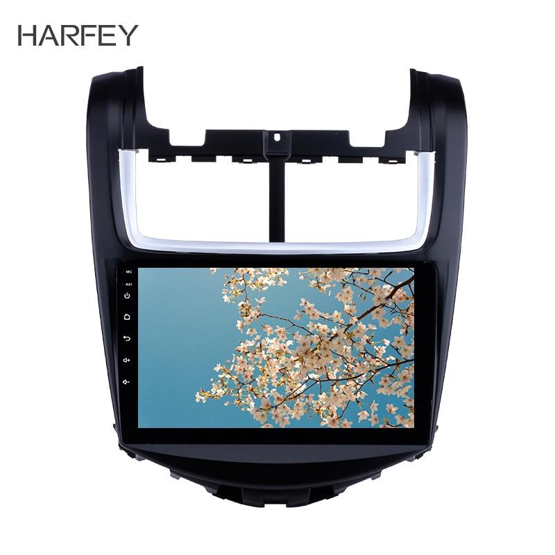 "Harfey 9 ""hd 2din carro gps 8 núcleo android 8.1 para chevy chevrolet aveo 2010 2011 2012 2013 unidade de cabeça jogador multimídia tpms dab"