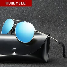 Vintage Polarized Sunglasses for Men Women Pilot Aviation Driving Fishing Outdoor Sun Glasses Metal