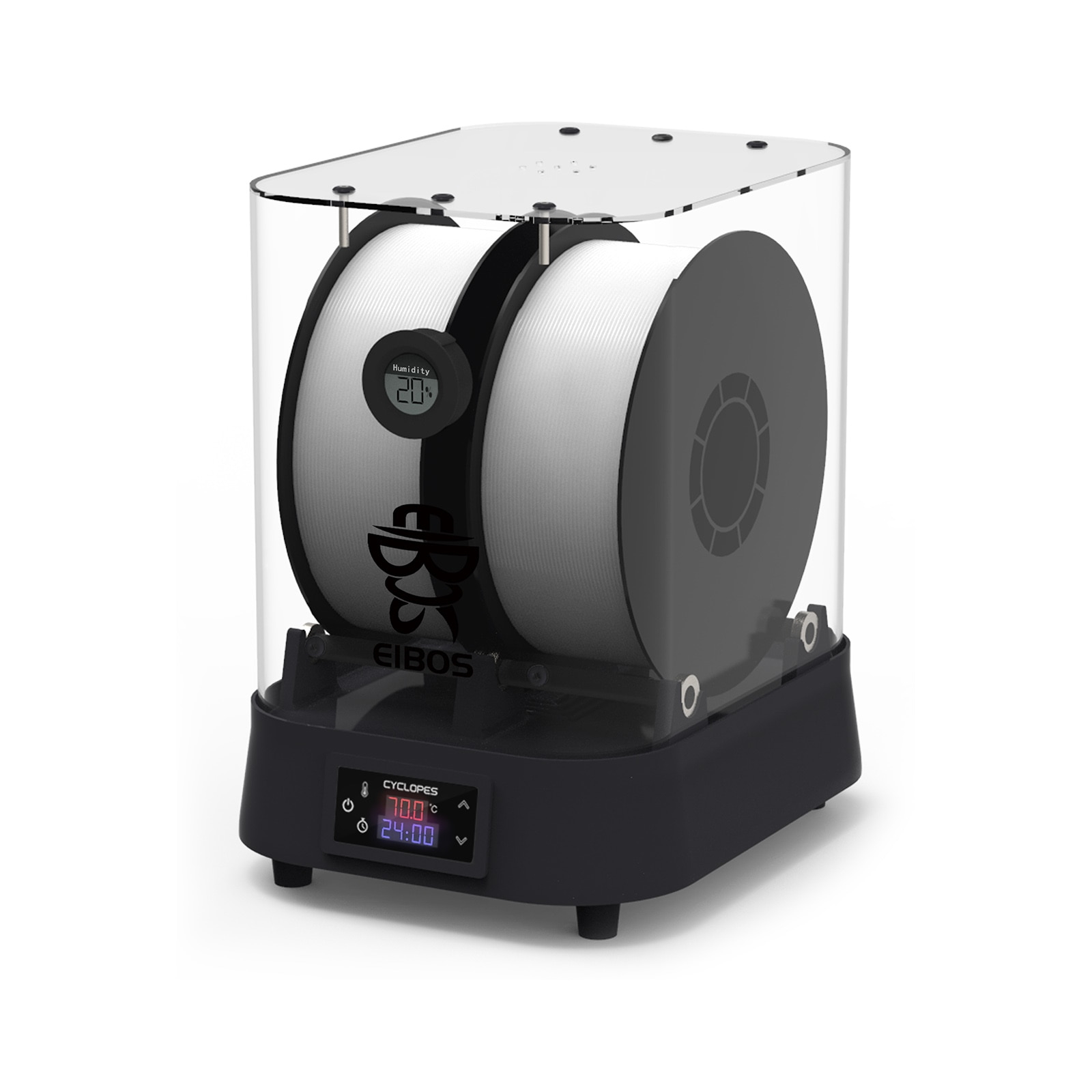 EIBOS Extra Large Dry Box, Filament Dryer, Compatible with 1.75mm, 2.85mm, 3.00mm 3D Filament: DRY FAST, HIGH TEMPERATURE enlarge
