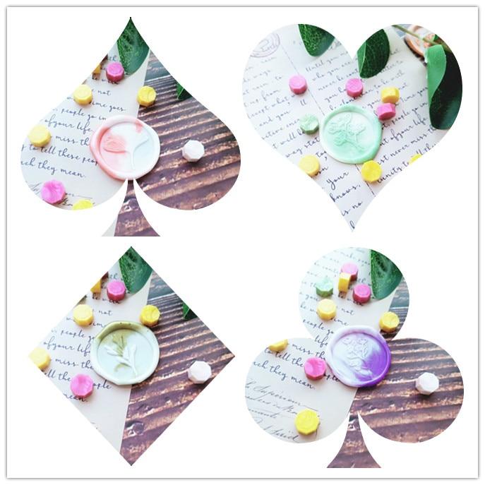 Sello de cera de hoja de flores de follaje sello sobre sello DIY sello de cera sello vintage diseño personalizado caja set madera metal deco
