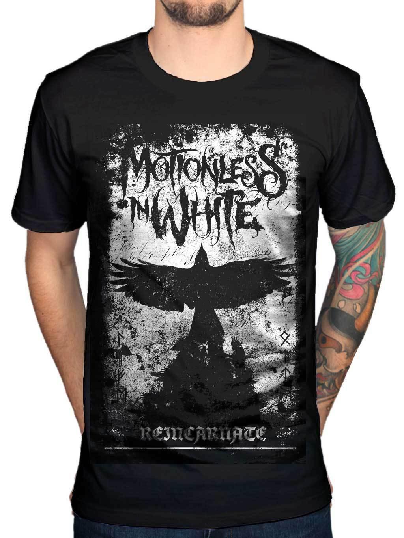 Oficial inmóvil en blanco camiseta Phoenix Metal Rock Chris Cerul