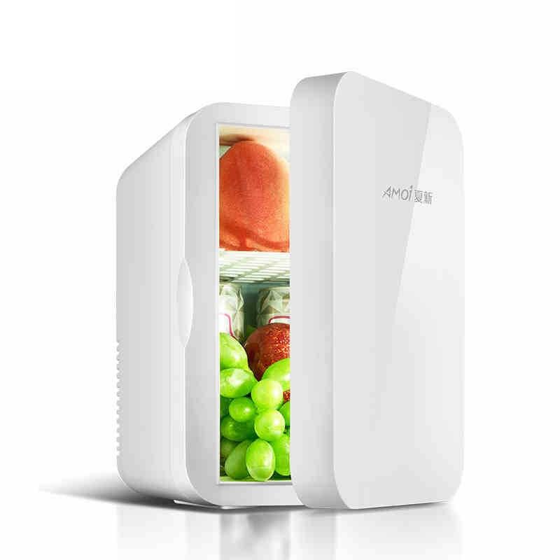 Маленький холодильник 6 л, однодверный холодильник, быстрое охлаждение автомобиля, быстрое охлаждение