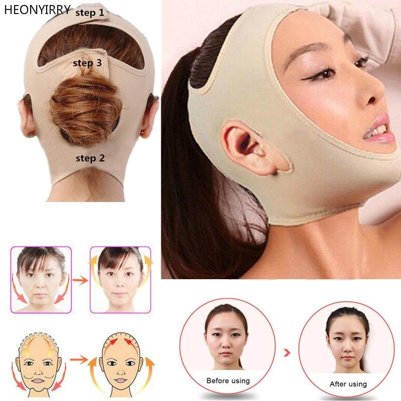 Banda de adelgazamiento de cara delgada Facial delicada vendaje de cuidado de la salud cinturón para adelgazar cuerpo forma de elevación reducir doble mentón y rostro