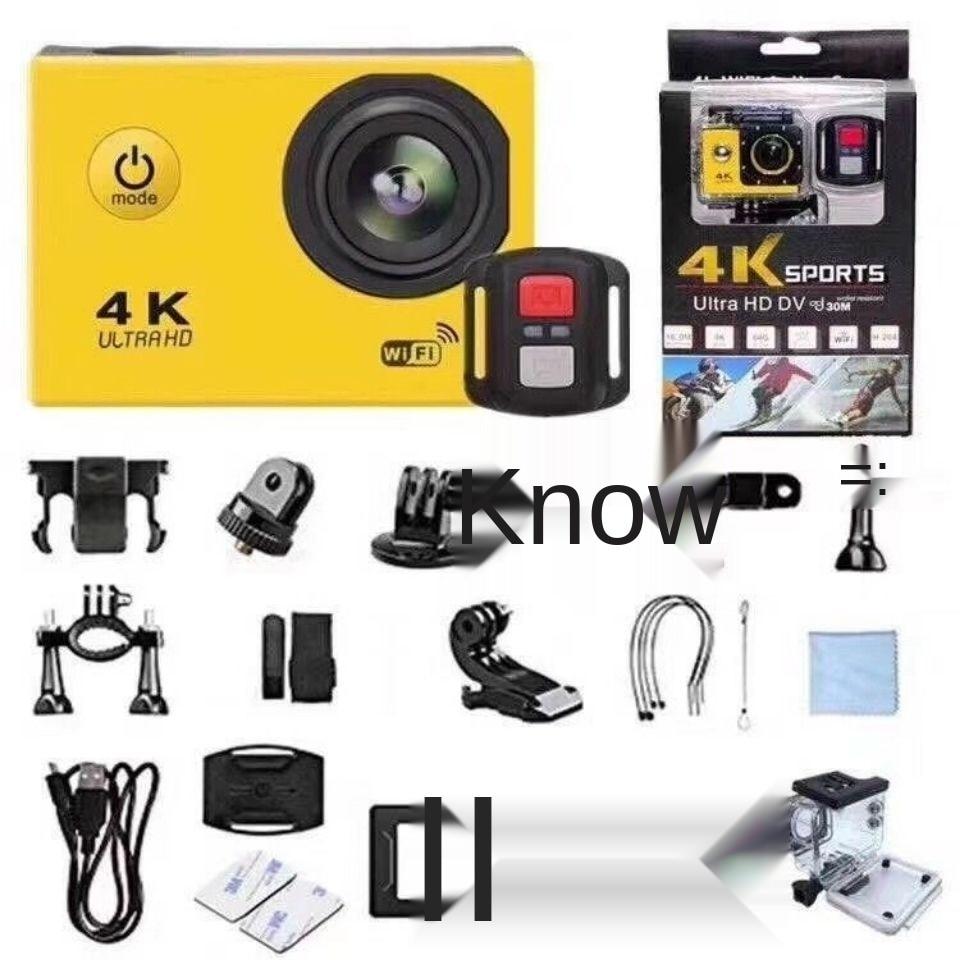 Shanku Sports Camera 4K HD WiFi camera anti shake diving motorcycle helmet dash cam dog DV enlarge