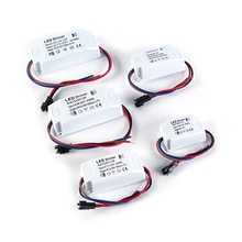1Pcs Led Driver Adapter Transformator Schakelaar Voor Led Verlichting 1W 7W 15W 18W 24W 36W Voeding