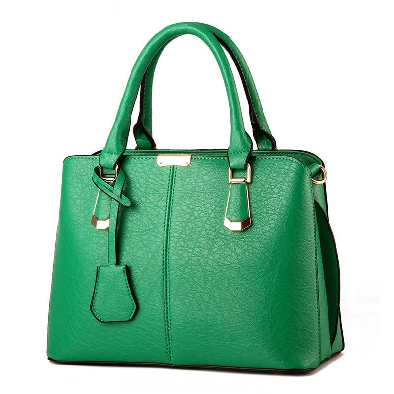 Bolso de mano de cuero de marca de lujo para mujer, bolso de mano para mujer, bolso Casual para mujer, bolsos bandolera coloridos
