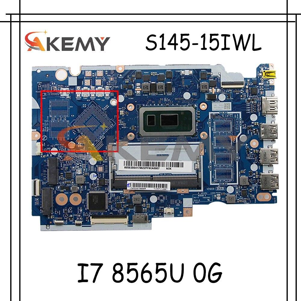 لينوفو ينوفو S145-15IWL V15-IWL اللوحة المحمول FS441 FS540 NM-C121 5B20S41730 5B20S41729 CPU I7 8565U 0G اللوحة