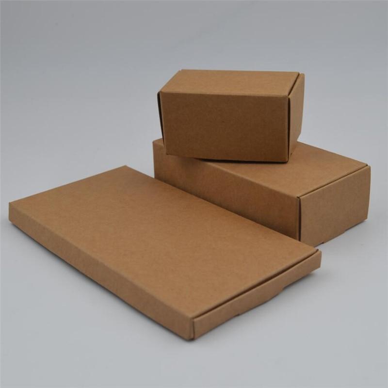 Marrón Kraft avión caja de regalo embalaje regalo almacenamiento caja de papel joyería jabón exhibición paquete caja cartón papel Kraft cajas