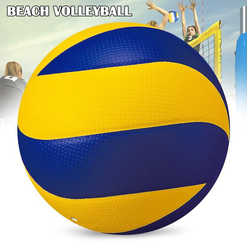 Пляжный Волейбол для игр в помещении и на открытом воздухе, официальный Мяч для детей и взрослых, Мяч для спикебола