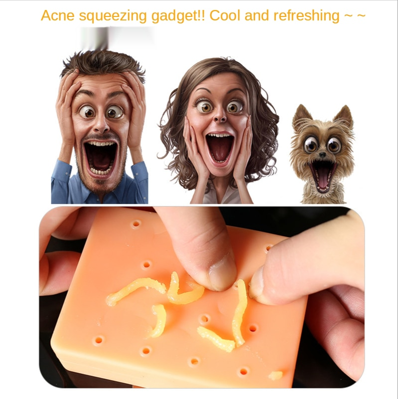 2021 new design acne-squeezing toys vent and decompress novelty and funny creative toys birthday gifts enlarge