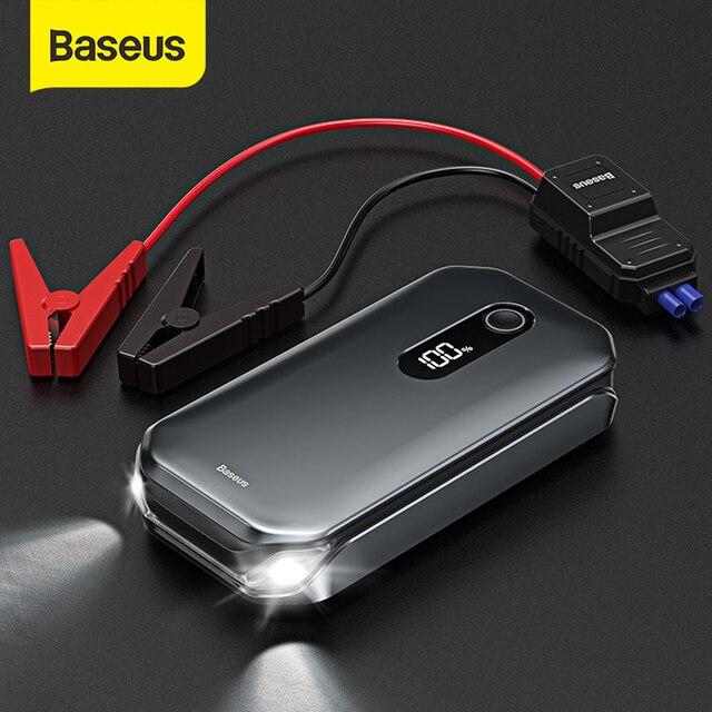 Пусковые устройства для аккумуляторов 12000 мАч Baseus 1000A