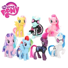My Little Pony Speelgoed Friendship Is Magic Rainbow Dash Pinkie Pie Lyra Heartstring Zeldzaamheid Pvc Action Figure Collectible Model Pop