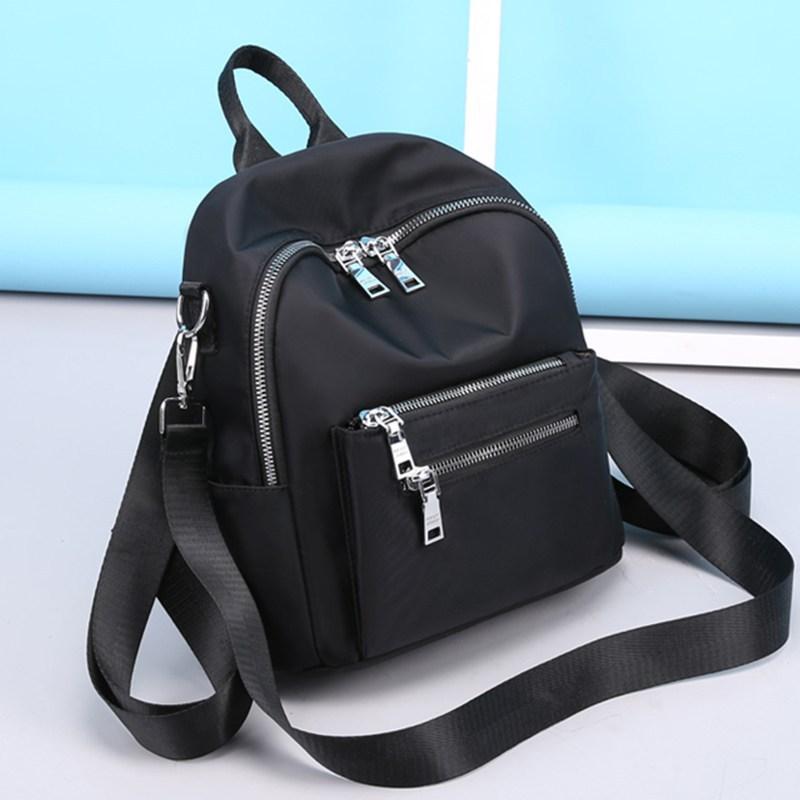 Легкий нейлоновый тканевый Повседневный Рюкзак, женский рюкзак, маленький мини-рюкзак для женщин, Подростковый летний Повседневный Рюкзак,...