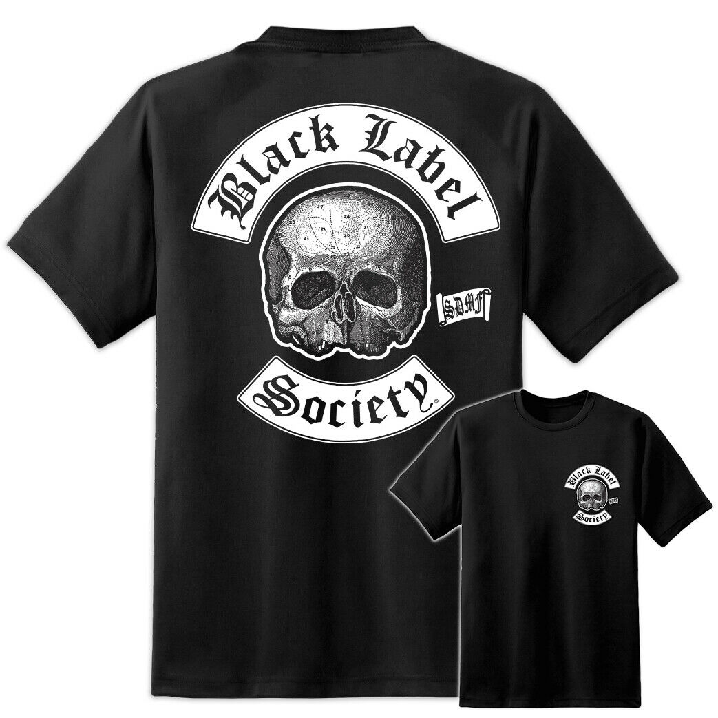 Camiseta de banda de Metal Black Label Society S 5Xl impresionante Sdmf de alta calidad