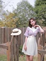 monet garden self made french style dress for girls