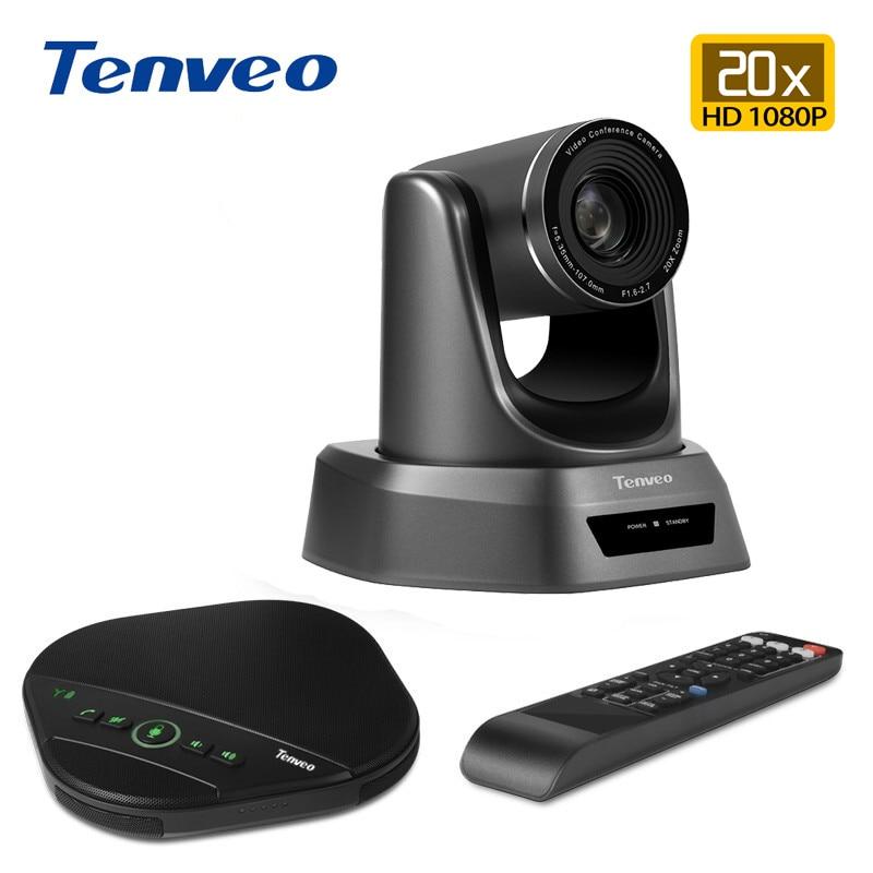 Tenveo-حل مجموعة مؤتمرات الفيديو مع ميكروفون ومكبر صوت ، تقريب 3x 10x 20x لغرفة الاجتماعات الصغيرة إلى الكبيرة